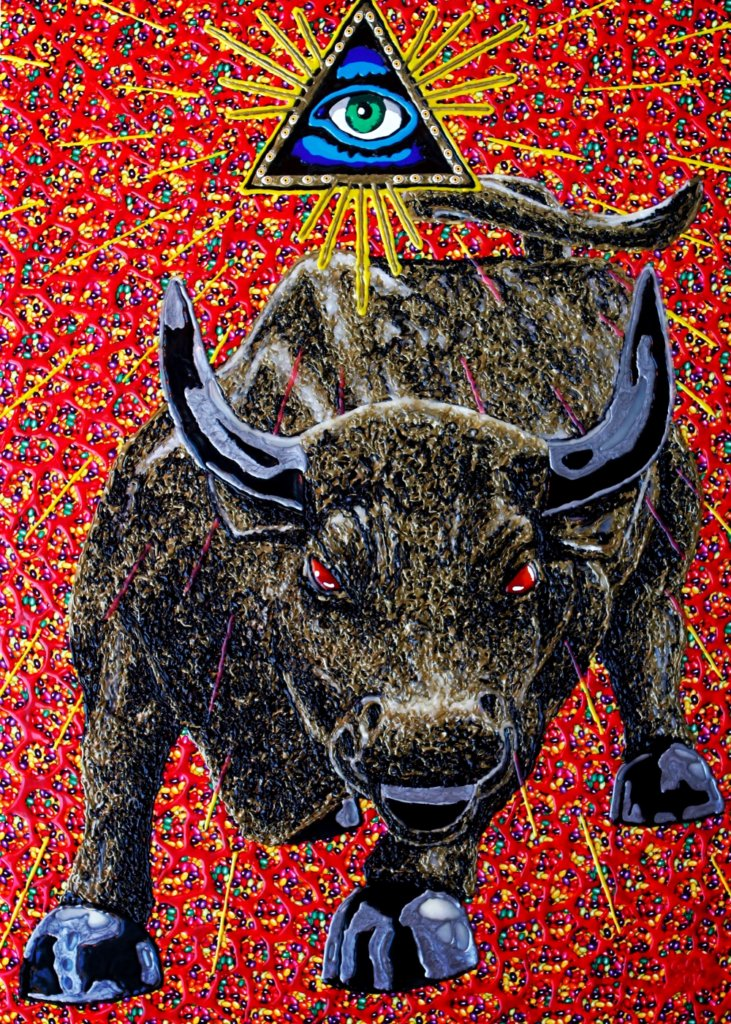HOHLBAUM.ART I Karl G.o.P. I The Bull Of Wallstreet