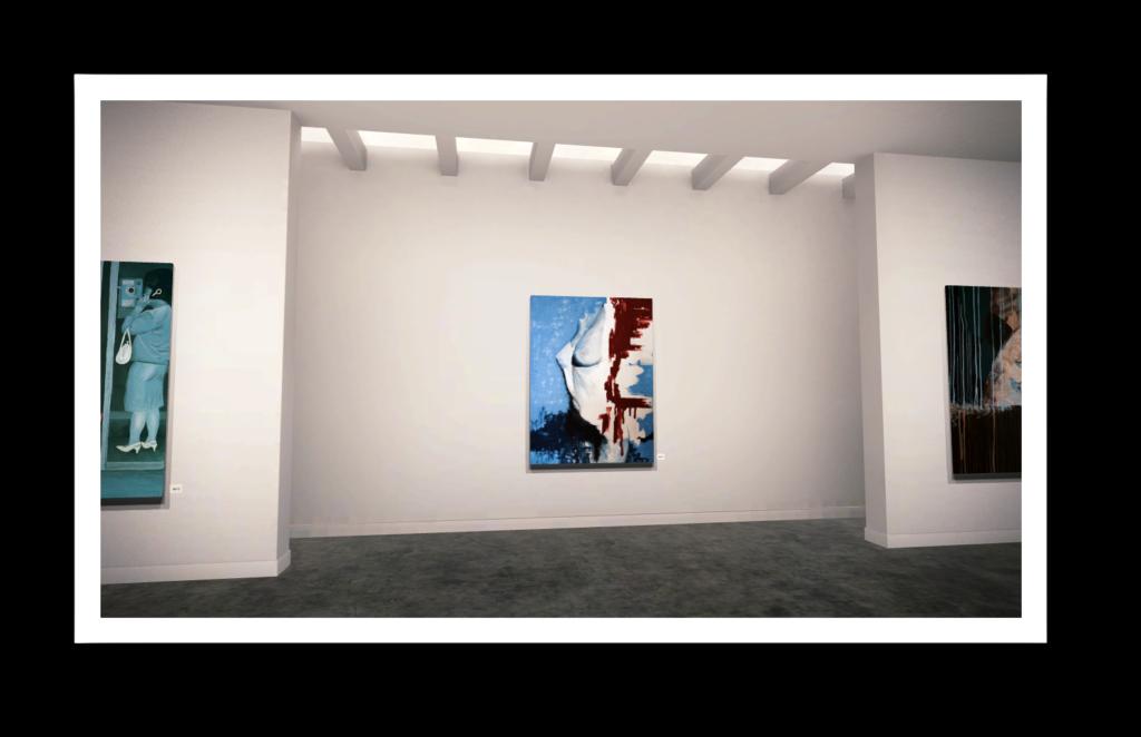 HOHLBAUM.ART I Kafka I Unsanft gestrandet (hängend in einer Gallerie)