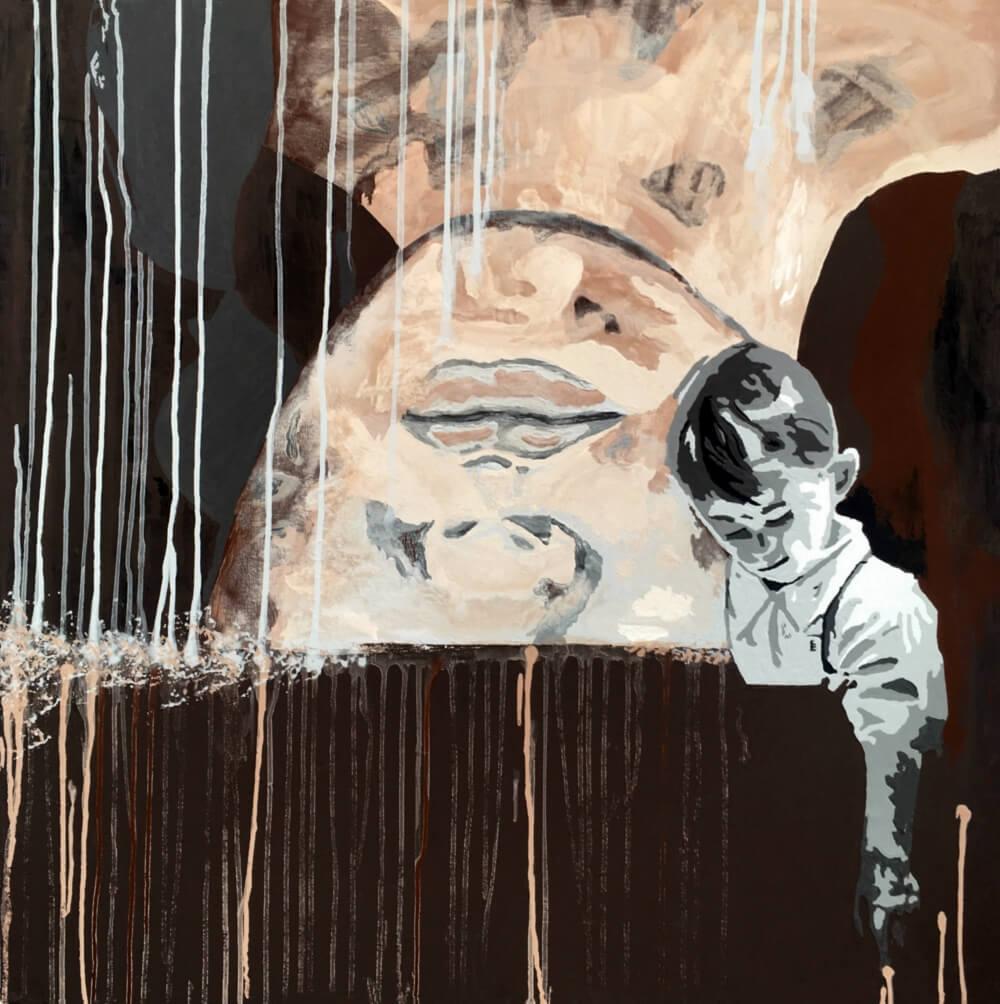 """HOHLBAUM.ART präsentiert Kafka und sein Gemälde """"Zu keiner Stunde"""""""