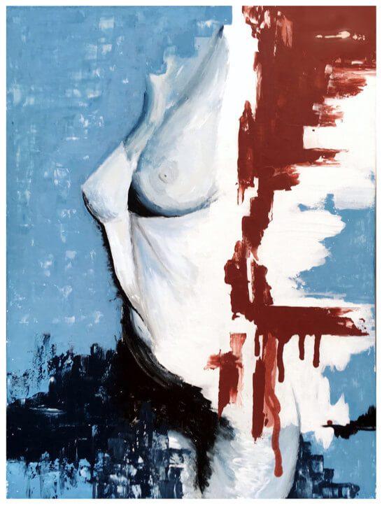 HOHLBAUM.ART I Kafka I Unsanft gestrandet (ohne Rahmen)