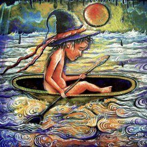 """Das Gemälde """"Milk Lake"""" von David Jibladze"""