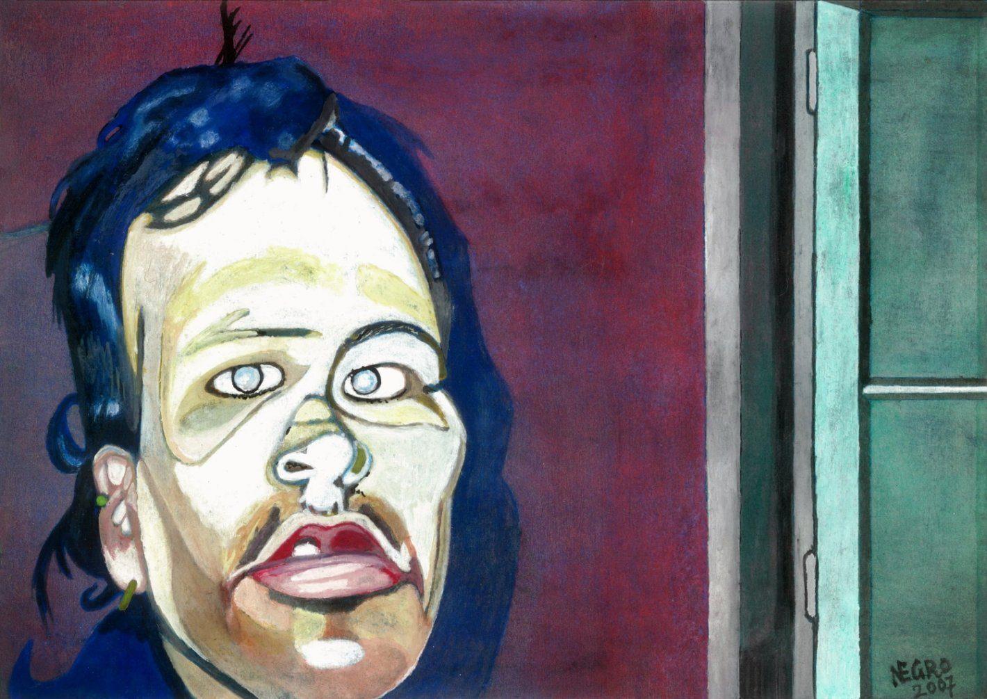Hohlbaum Art I Negro I Selbstportrait