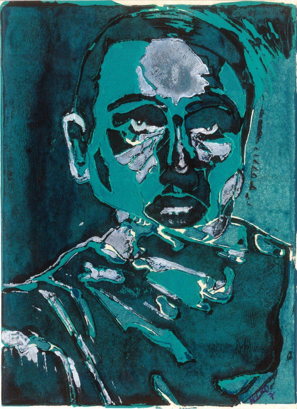 Hohlbaum Art I Negro I Selbstportrait Triptychon I