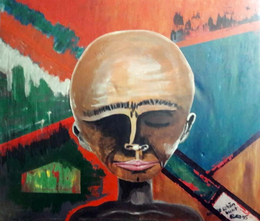 Hohlbaum Art I Negro I Immer schoen bunt