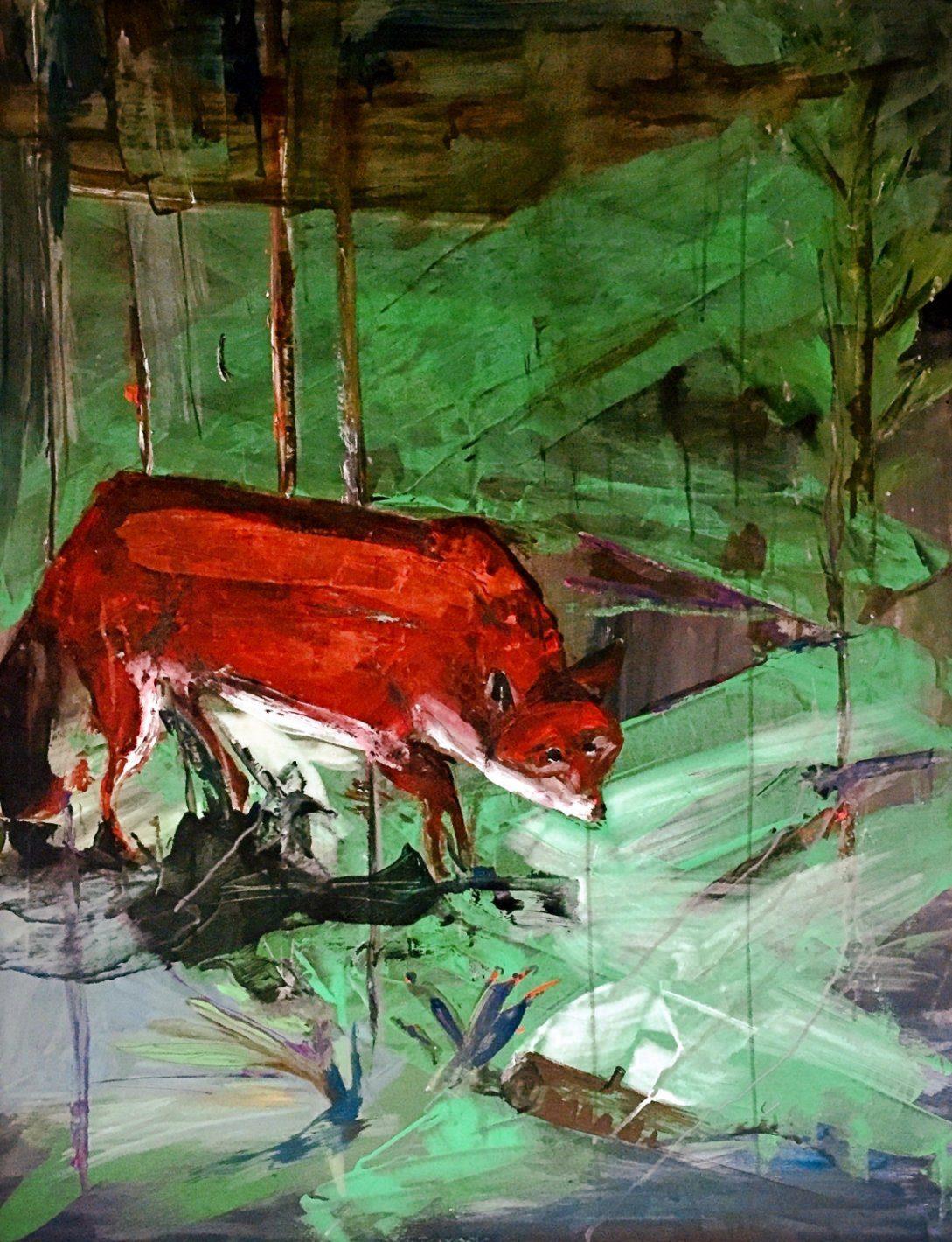 Hohlbaum Art I Sonja Leona I Fox