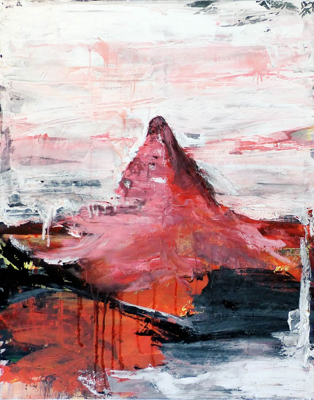 Hohlbaum Art I Sonja Leona I Matterhorn burning