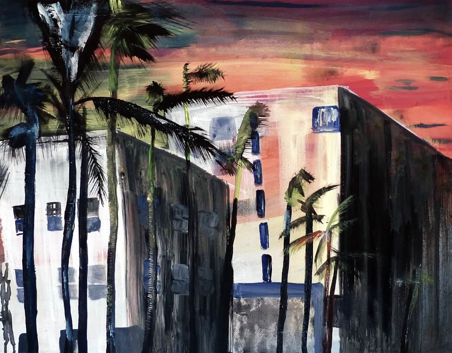 Hohlbaum Art I Sonja Leona I Welcome To Miami