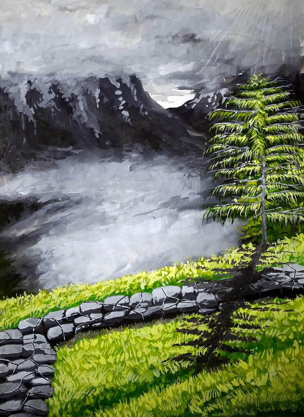 Hohlbaum Art I Shouvik Dasgupta I Monsoon Heights