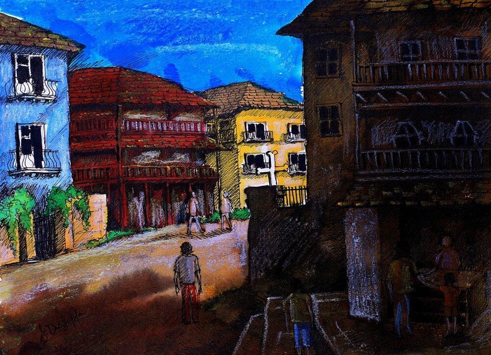 Hohlbaum Art I Shouvik Dasgupta I Portuguese Street