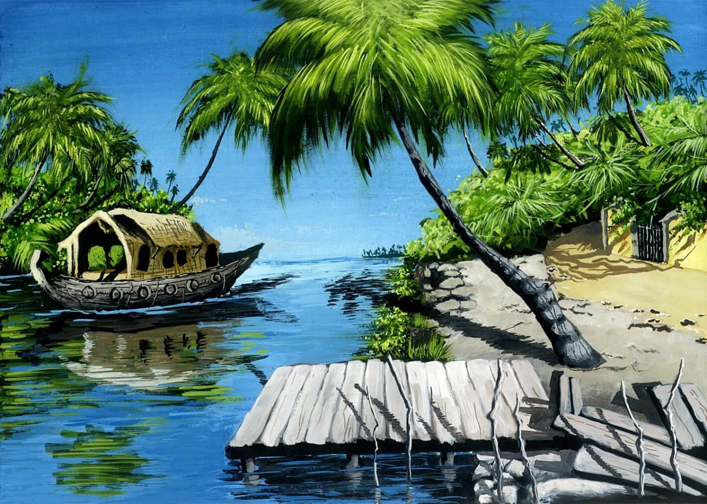 Hohlbaum Art I Shouvik Dasgupta I The Backwaters