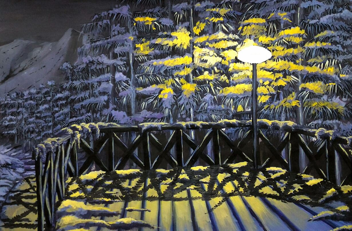 Hohlbaum Art I Shouvik Dasgupta I Winter Night