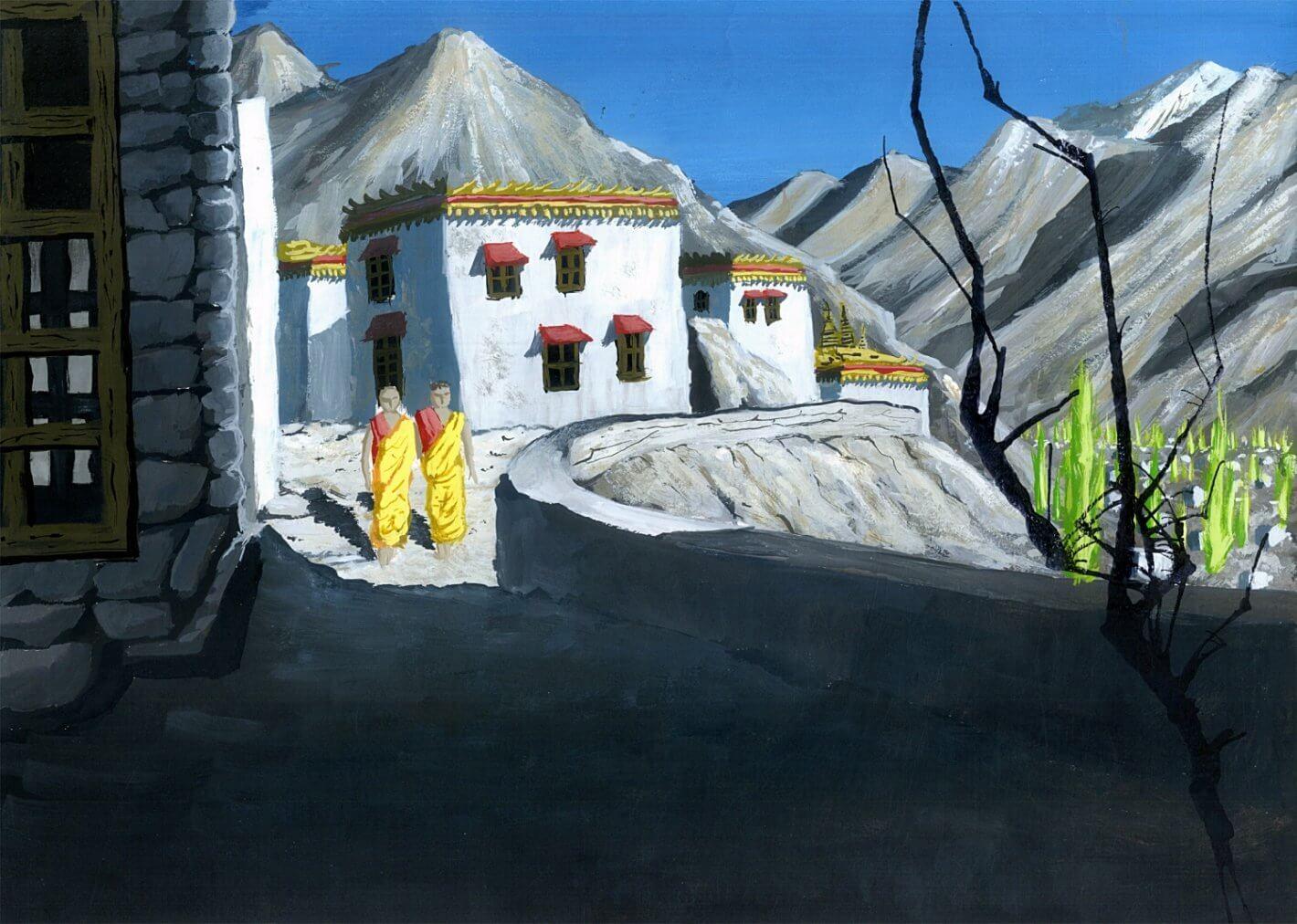Hohlbaum Art I Shouvik Dasgupta I Ladakh (Indien)